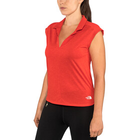 The North Face Inlux SL Top Dam juicy red dark heather